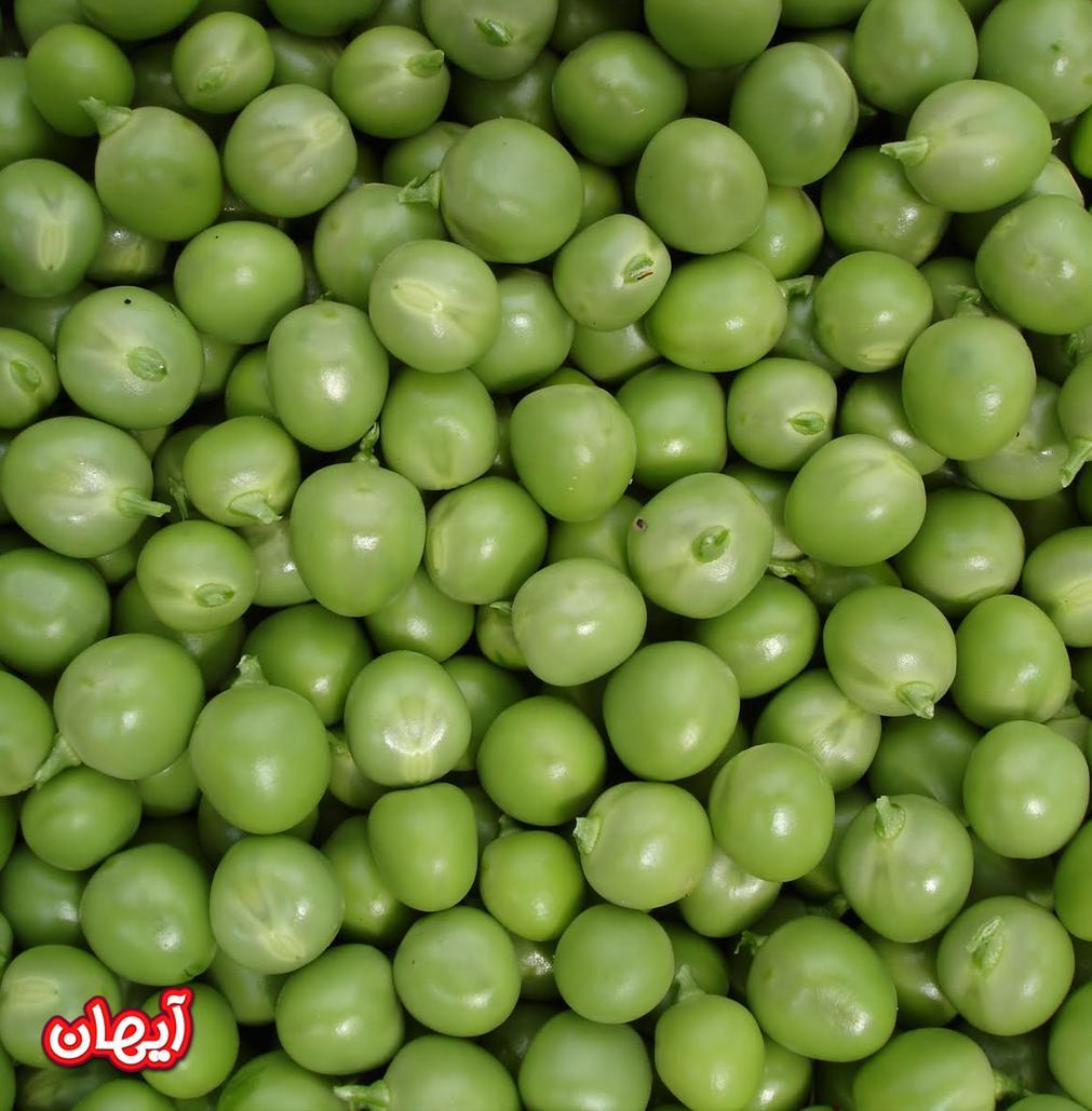 نخود سبز منجمد 10کیلویی